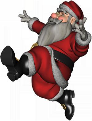 Картинка танцующий дед мороз пнг