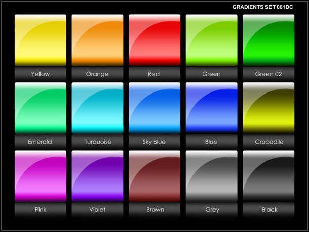 Gradients 15colors