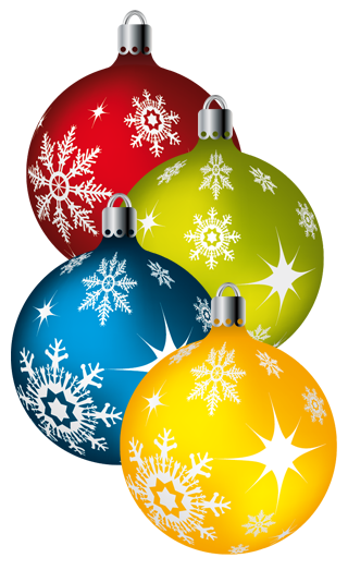 Stock Vector - Colorful X-mas Balls